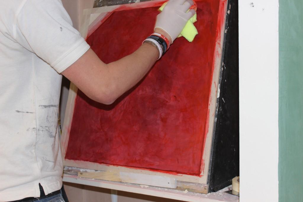 Classic Venetian Plaster Finish
