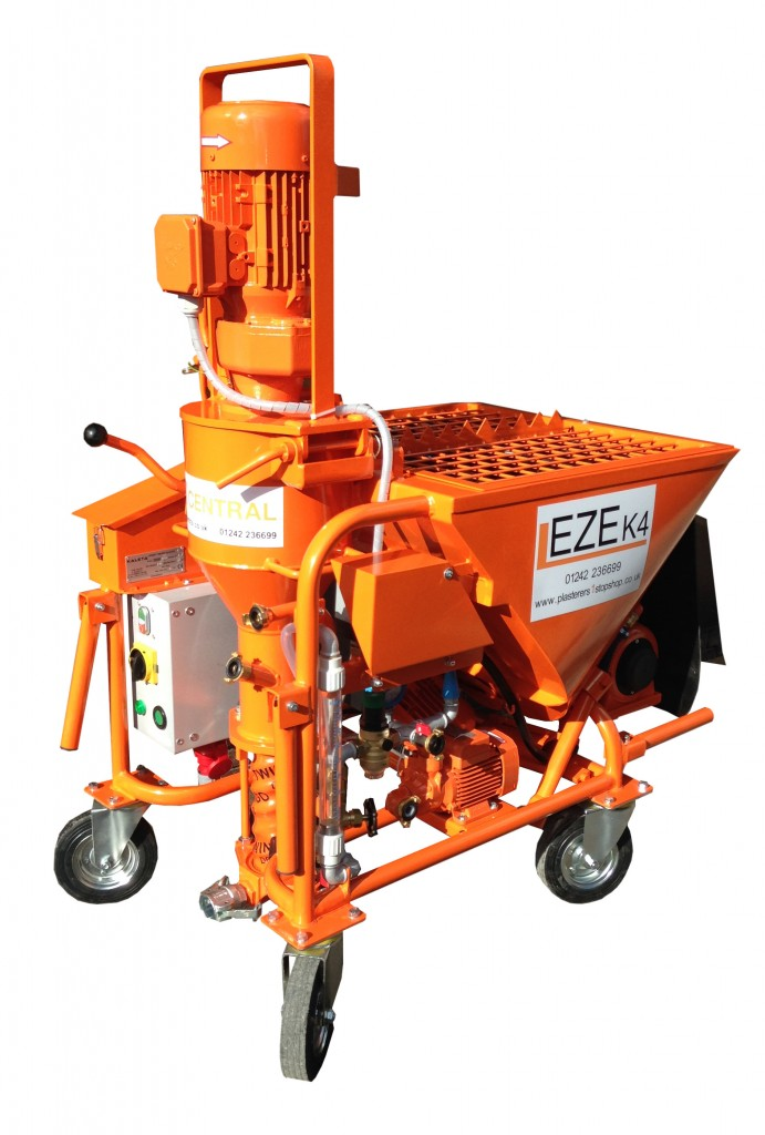 The EZE K4 Plastering Machine