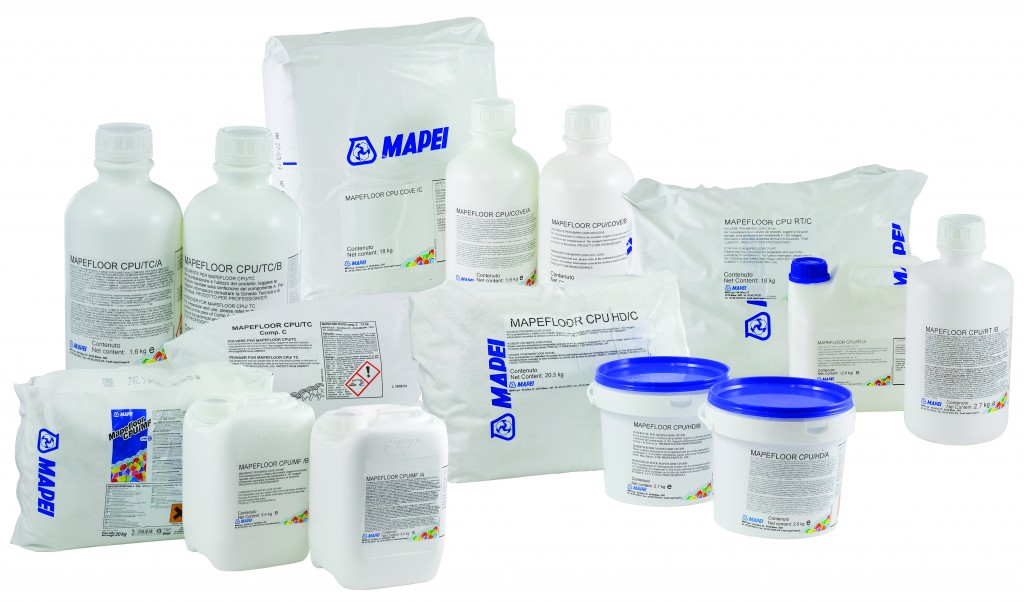 Mapefloor Group Packaging Range