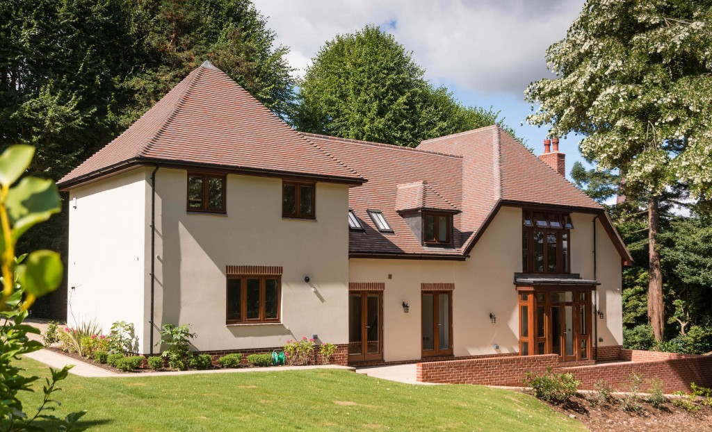 Monocouche Render By Saint-Gobain Weber For Traditional New Build