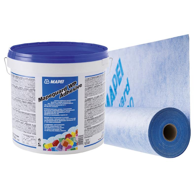 Mapei Launches Mapeguard WP Adhesive And Mapeguard WP 200