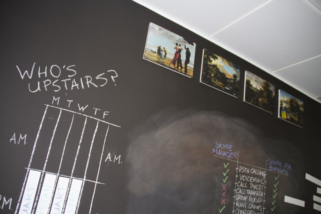 Gratterpalm Gets Creative With British Gypsum Magnetic Plaster