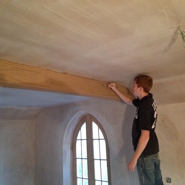 Wood effect beam