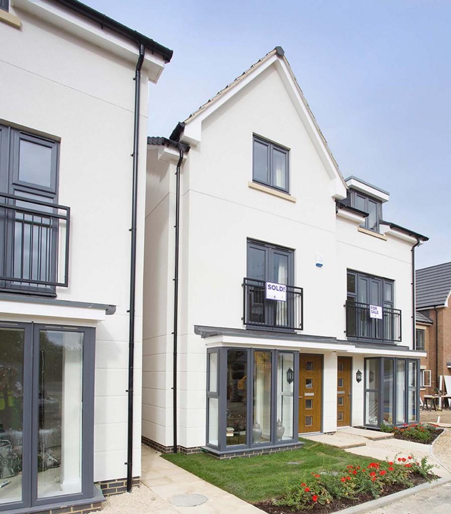 Modern, Designer Homes With Smart Render Finish
