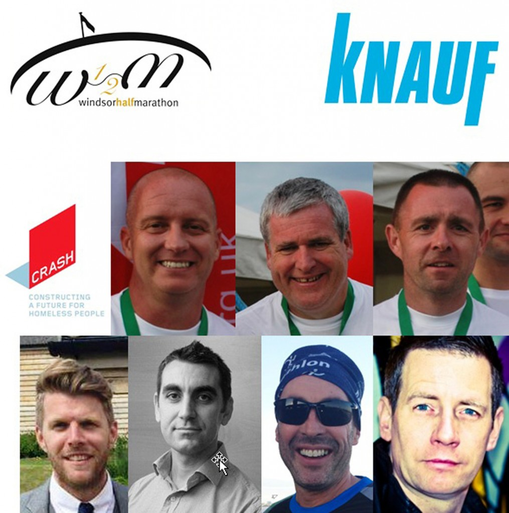 Knauf UK sponsors Windsor Half Marathon on behalf of CRASH