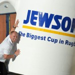 JEWSON UNVEILS THE BIGGEST CUP IN RUGBY