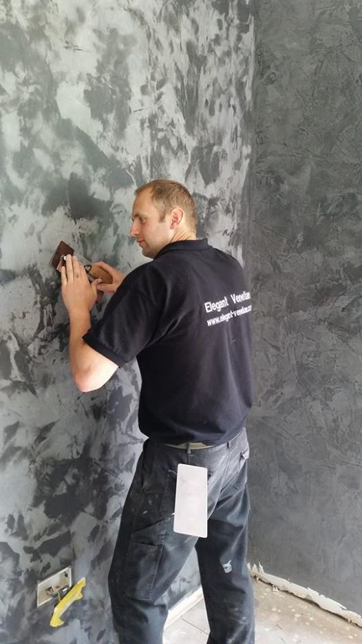 Venetian Plaster Bought To You By Bespoke Design Solutions