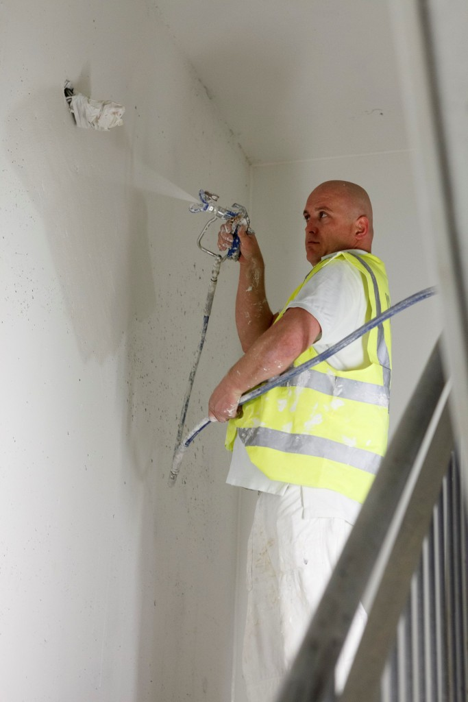 Knauf Spray Plaster keeps boutique motel to tight schedule