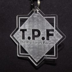 The Plasterers Forum Keyring