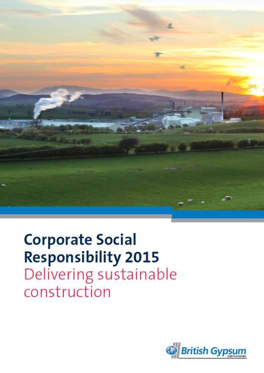British Gypsum Announces Latest Sustainability Milestones