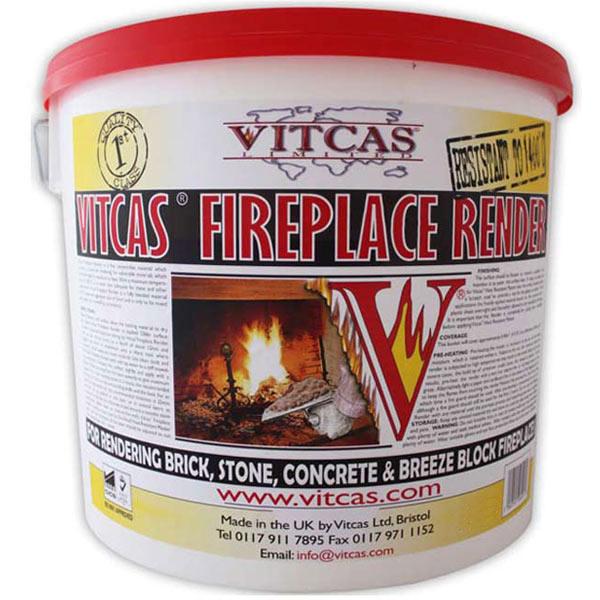 Vitcas Fireplace Render