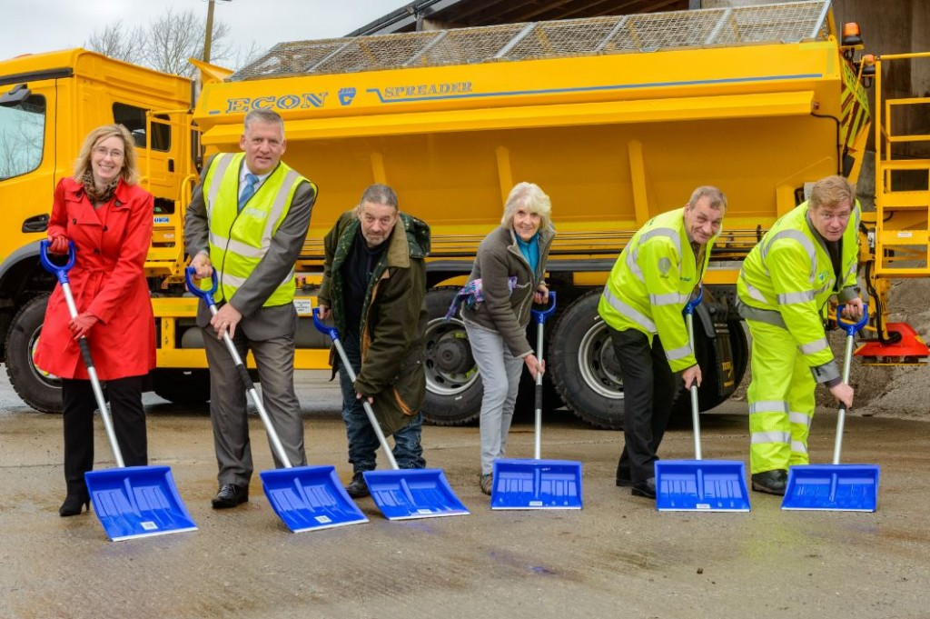 Balfour Beatty Living Places And Jewson Help To Prepare West Sussex For Winter