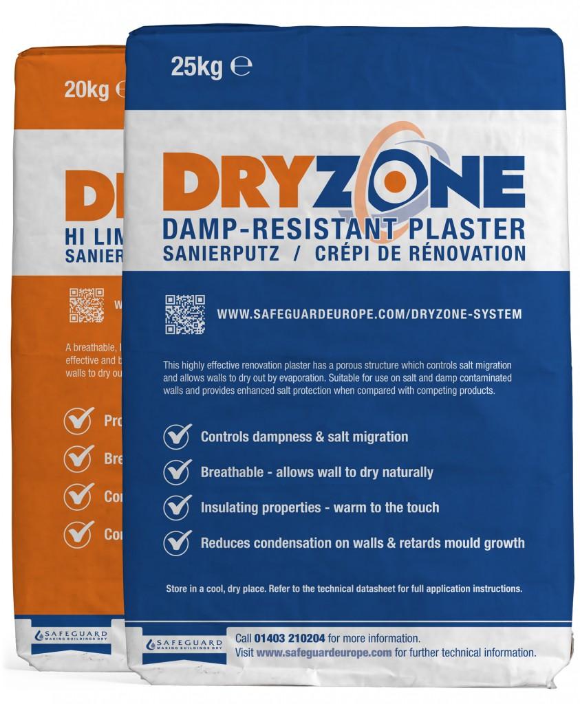 Beating damp with Safeguard Renovation Plaster