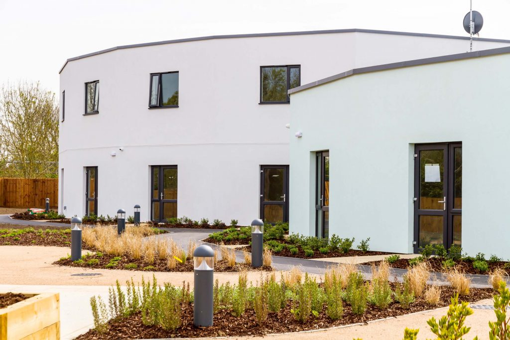 Saint-Gobain Weber Render System Completes Pioneering Care Centre
