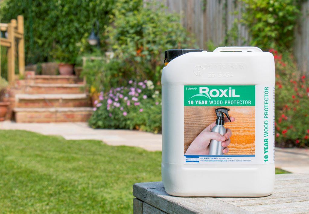 Safeguard Roxil Silicone Wood Protector #2
