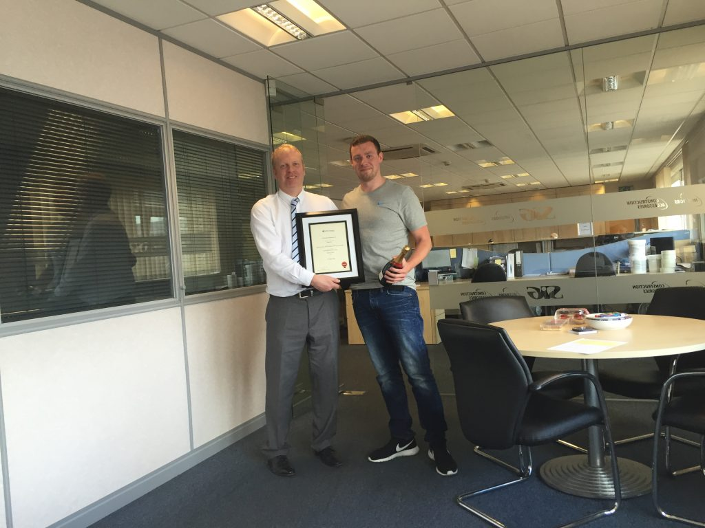 First Diploma Awarded on British Gypsum's Merchant Training Course