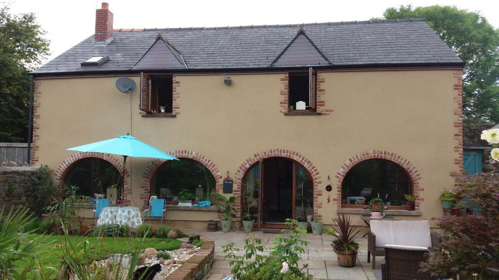 Saint-Gobain Weber Eliminates the Leaks in Welsh Granary