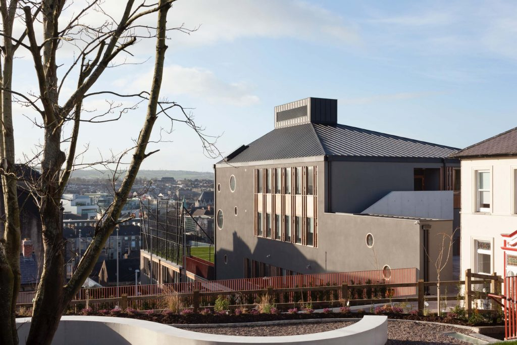 Weber EWI Finishes Outstanding College Expansion in Cork