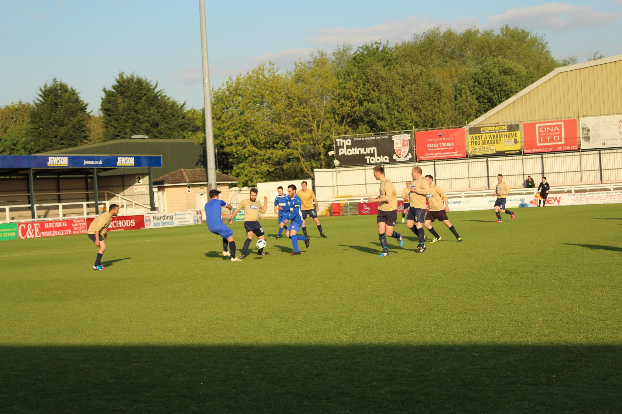 JEWSON SCORES FUNDRAISING GOAL IN CHARITY FOOTBALL MATCH