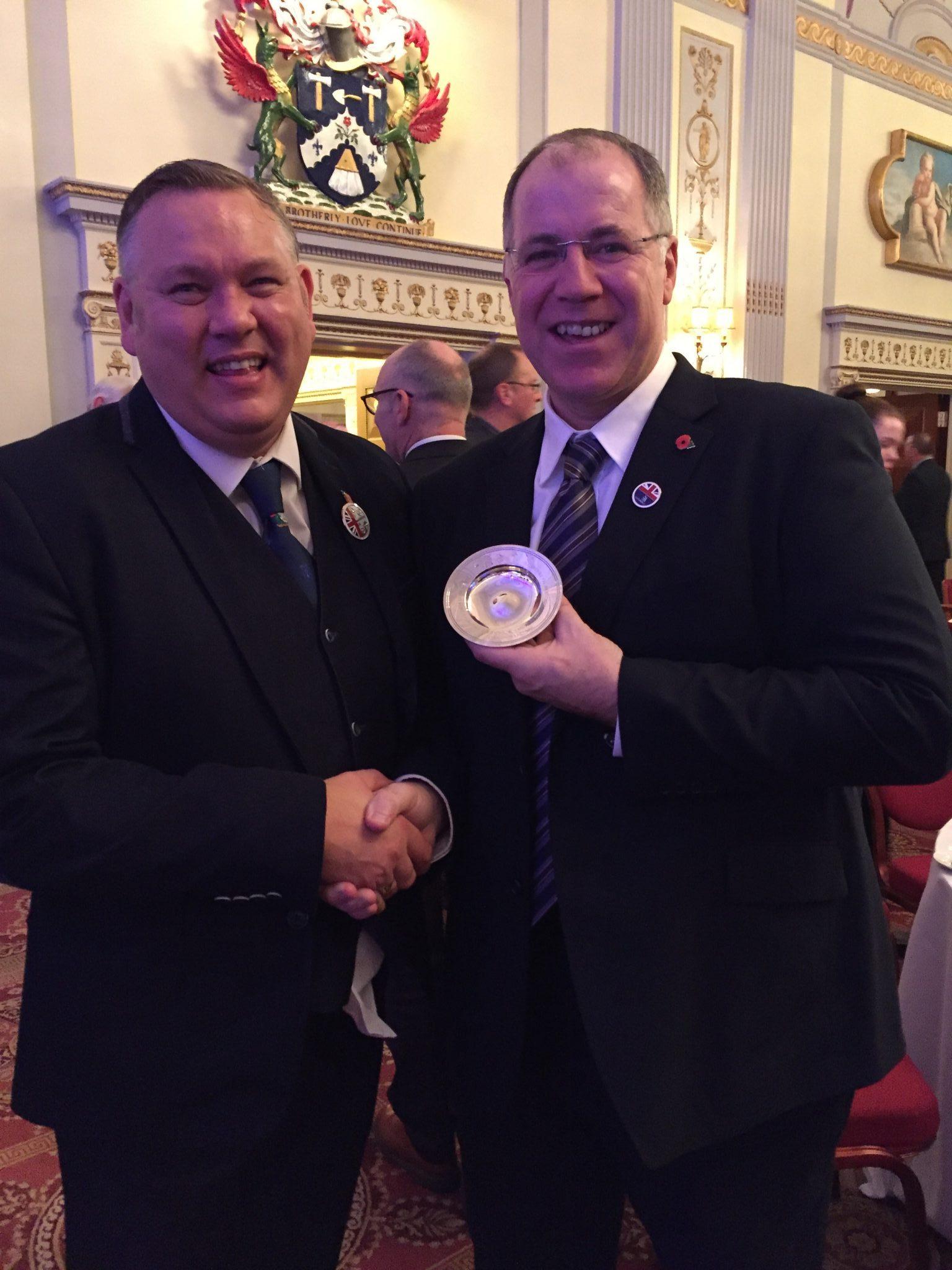 David Kehoe nominated David Hall for Lifetime Contribution to Training Award 1