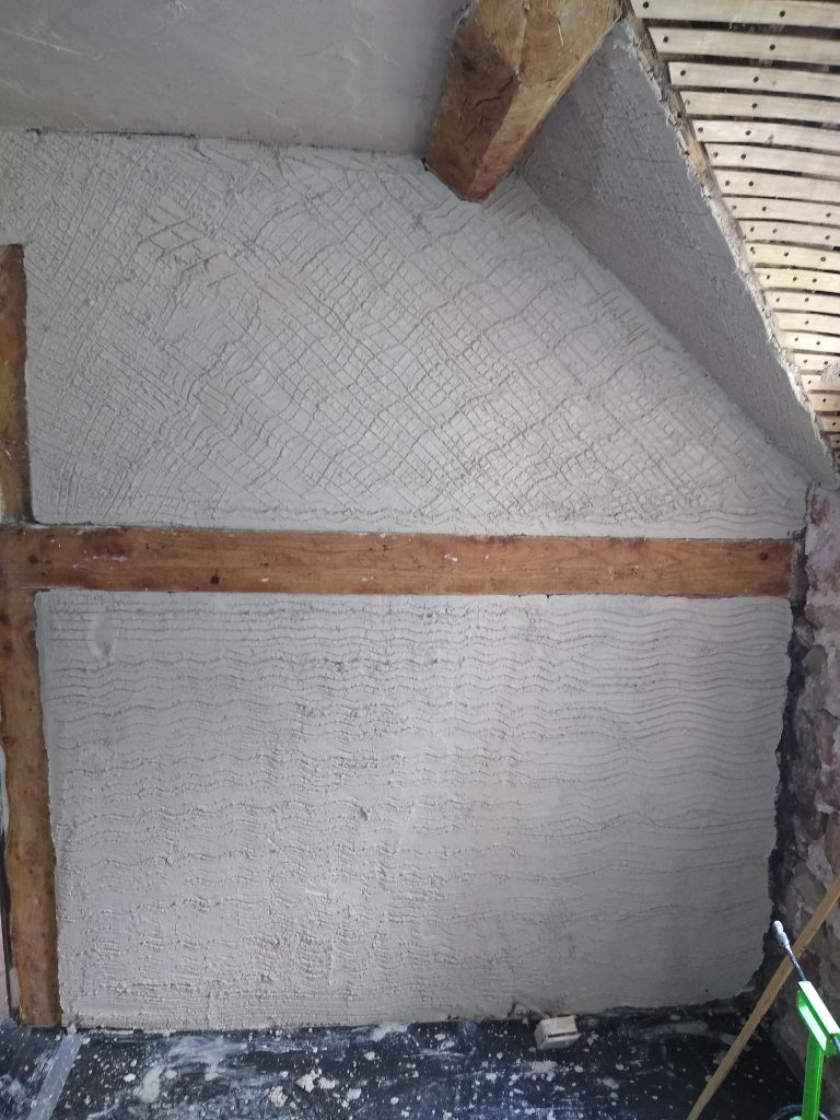 Lath and plaster repairs